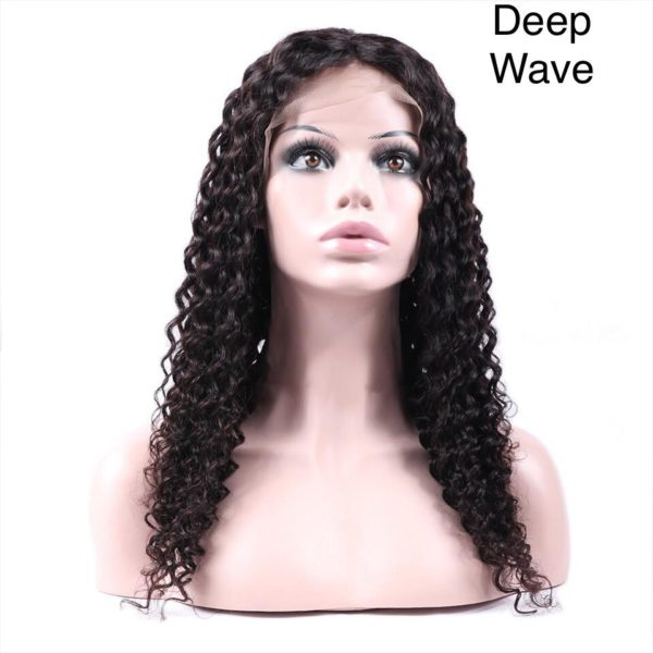 lovely deep wave full lace wig