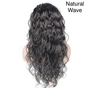 Beautiful natural wave full lace wig