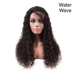 Beautiful water wave full lace wig